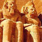 Temple of Ramses II at Abu Simbel, Egypt by Alberto  DeJesus