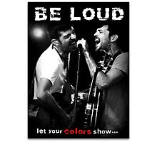 The Avett Brothers - Colorshow Photographic Print