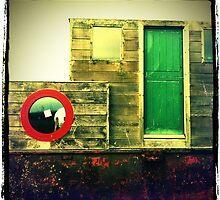 GREEN Door RED Porthole... by Venomator