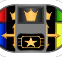 Classic Badge Key Sticker