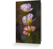 Poppies on Parade Greeting Card