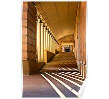Hallowed Corridors Poster