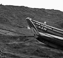 'Our Georgina', North Landing, Flamborough, East Yorkshire by Tom Bartle