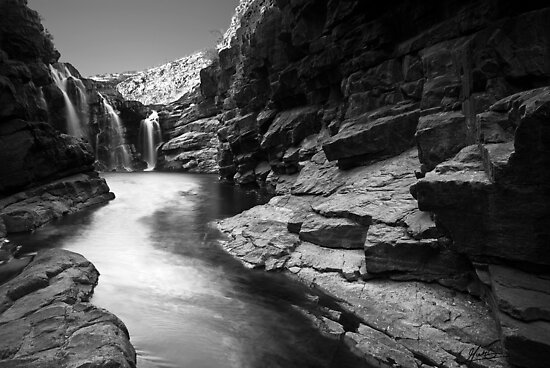 Lennard Gorge in Monochrome by Mieke Boynton
