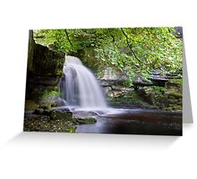 West Burton Falls II Greeting Card