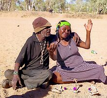 Friends in Alice Springs, Australia by Alberto  DeJesus