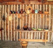 Rectory kitchen,, Ste. Marie Among the Iroquois by linmarie