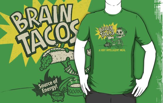 Brain Tacos by walmazan