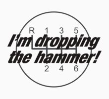 I'm Dropping The Hammer by Christopher Bunye