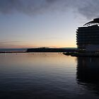 Cardiff Bay at Dusk by cofiant