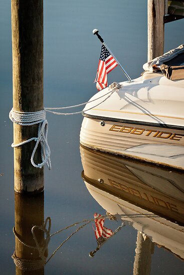 Reflections in Saugatuck - 2 by Robert Kelch, M.D.