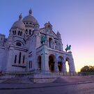 Dawn At The Sacré-Cœur by Conor MacNeill