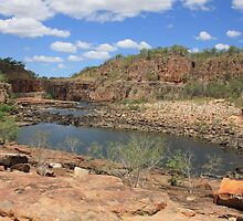 Katherine Gorge in Spring by pepstwolf