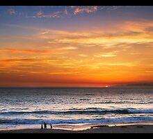 Sunset in Redondo Beach by Phil Becker