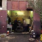 Kuwait Mechanics At Work by Larry3