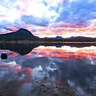 Dusky Reflections - Moogerah Dam by Beth  Wode