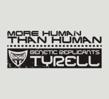 Tyrell - Bladerunner - More human than human by buud