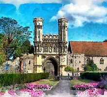 Beautiful Britain - St Augustine's Abbey, Kent by Dennis Melling