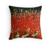 In This Macro World: A Time for Harvest Throw Pillow