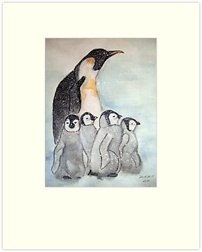 KING PENGUIN by Heidi Mooney-Hill