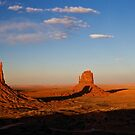 Monument Valley panorama by Rachael Talibart