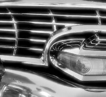 1956 Ford grill by pdsfotoart