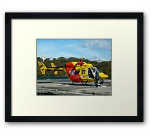 Westpac Rescue Helicopter, NSW Framed Print