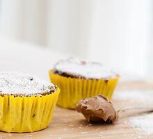Chocolate Coconut Cupcakes by Charlotte Lake