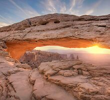 The Mesa Arch Sunrise II by Wojciech Dabrowski