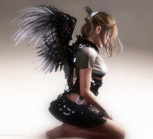 Arkham Angel by Sandra Bauser Digital Art