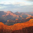 Sunset at the Grand Canyon by BeckyMP