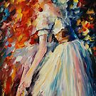 PREPARATION - original oil painting on canvas by Leonid Afremov by Leonid  Afremov