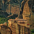 Greece. Meteora. The Holy Monastery of Rousanou/St. Barbara. by vadim19