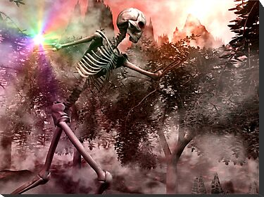 Skeletal War Majician by XadrikXu