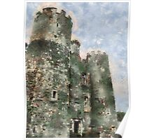 Enniscorthy castle, Wexford, Ireland Poster