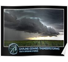 Branded: Darling Downs Thunderstorms Poster