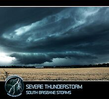 Branded: Severe Thunderstorm by SouthBrisStorms
