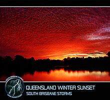 Branded: Queensland Winter Sunset by SouthBrisStorms