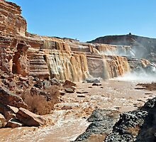 grandfalls just outside of winslow az by gene mcfarland