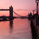 Tower Bridge Sunrise by DonDavisUK