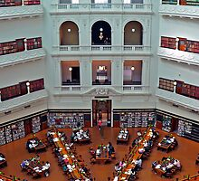 La Trobe Reading Room - Melbourne, VIC by Akrotiri