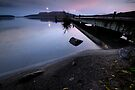 Full Moon over Tarawera by Michael Treloar