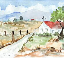 In die Hoëveld by Maree  Clarkson