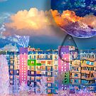 Photo manipulation surreal art : animals, sky, clouds by moonimage