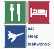 Eat Sleep Taekwondo by EatSleep