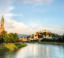 Salzburg Sunset by Luke Griffin