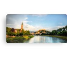 Salzburg Sunset Canvas Print