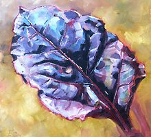 Beet Leaf by Elizabeth Whiteman