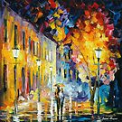 PRELUDE - original oil painting on canvas by Leonid Afremov by Leonid  Afremov