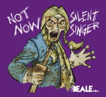 Not Now Silent Singer - Dark by Nick Beale